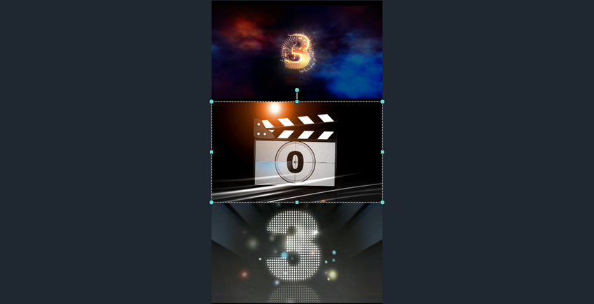 怎么制作三屏视频