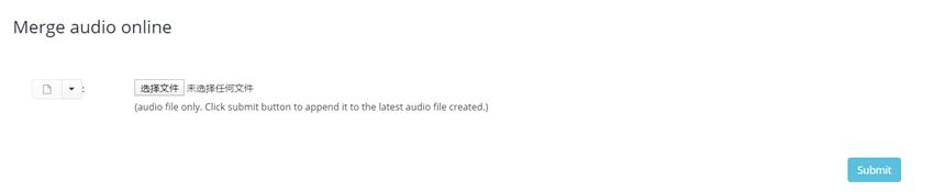 MergeAudiomp3合并器