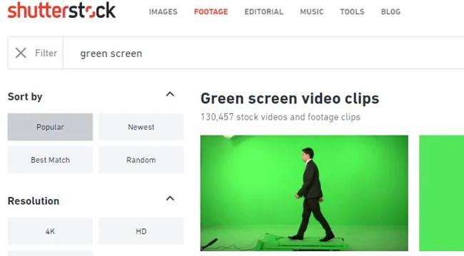 有哪些绿幕素材下载网站
