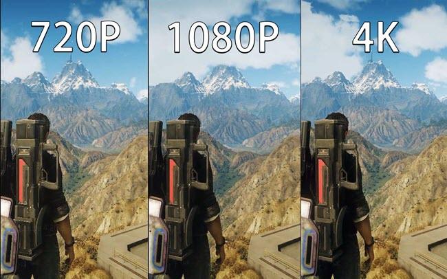 清晰度对比