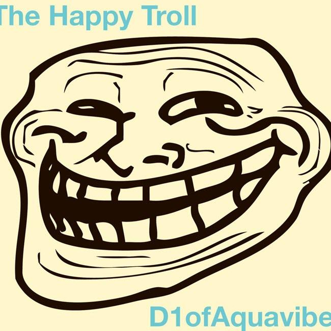The happy troll